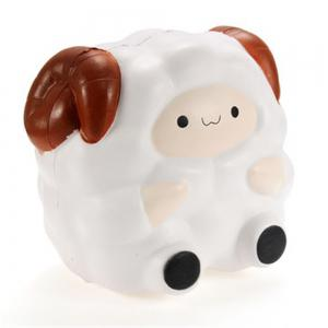Jumbo Squishy Jumbo Sheep 12cm Slow Rising with Packaging Collection Gift Decor Soft Squeeze Toy -