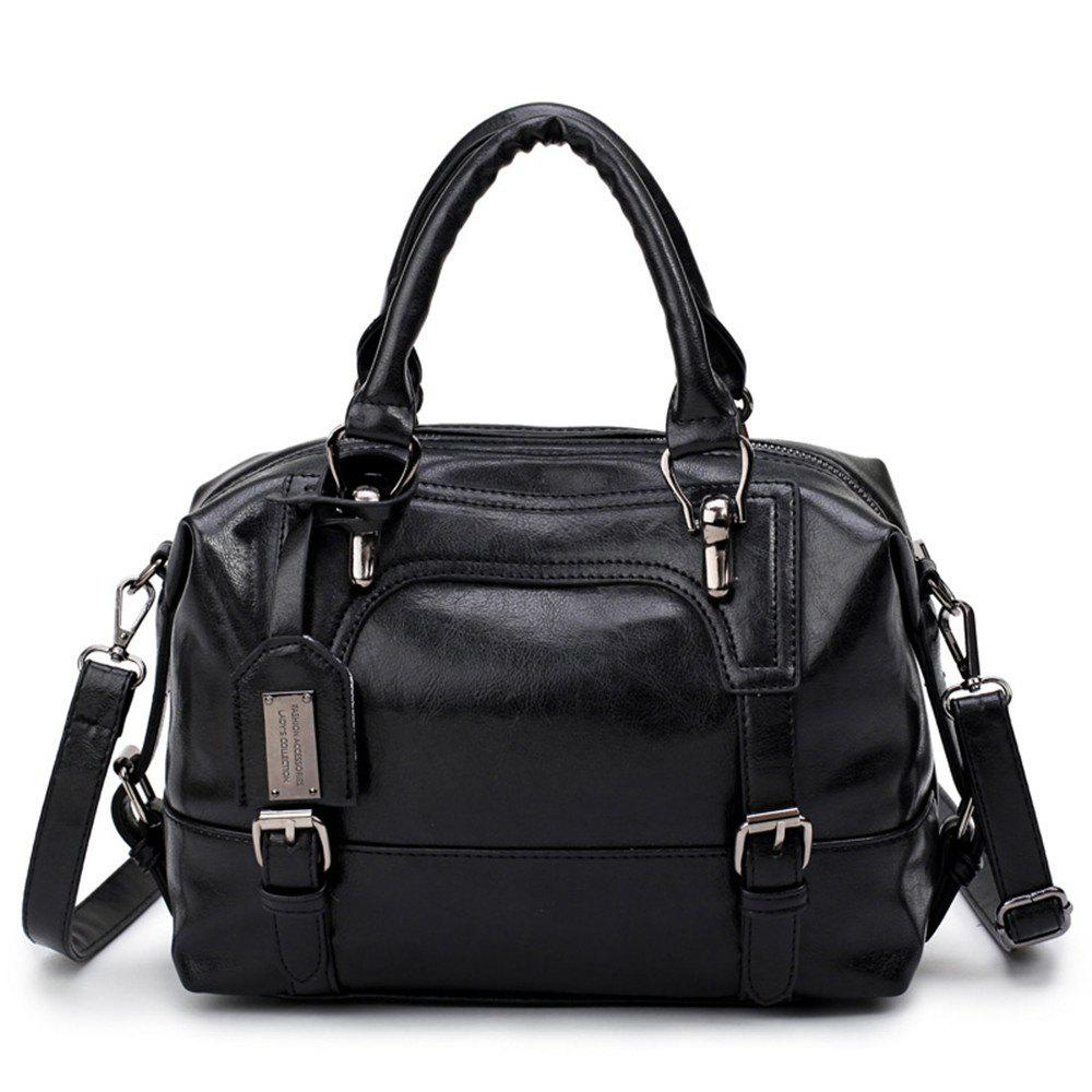 Hot Oil Wax Leather Handbag Shoulder Inclined Across Packages
