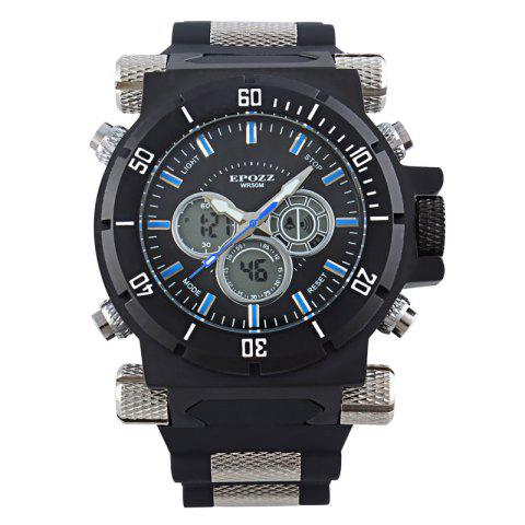 Outfits EPOZZ 2813 Men Dual Display Watch Classic Fashion Alarm Waterproof