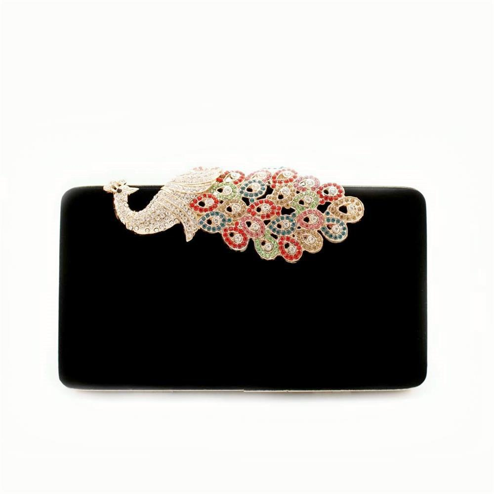 Outfit Women Bags Evening Clutch Velvet Diamond Ring Handbags Small Round Bag Day