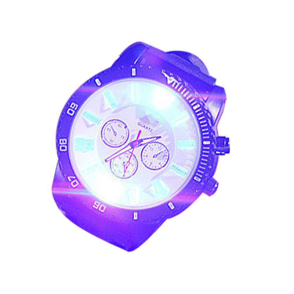 Chic Supply Fashion Trend Led Students Tide Male Silicone Jelly Watch
