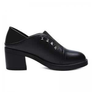 Waterproof Platform Thick Heel and Female Ankle Boots -