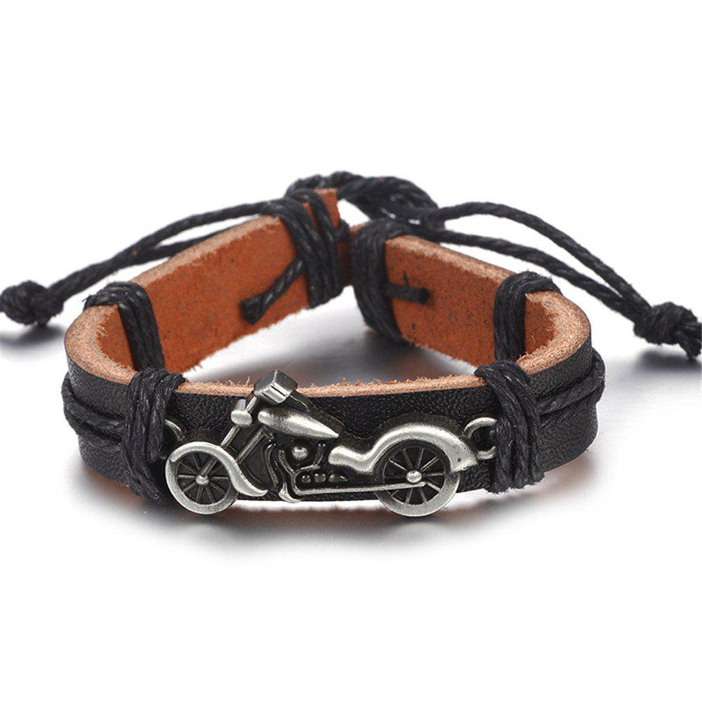 Motorcycle Motorcycle Leather Accessories Leather Bracelet Jewelry