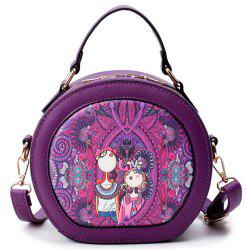 Forest Circular Bags Women Shoulder Bag Designer Ladies Handbag Fashion -