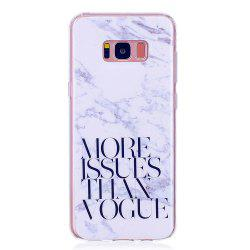 Marbling Phone Case For Samsung Galaxy S8 plus Case Trend Fashion Soft Silicone TPU Cover Cases Protection Phone Bag -