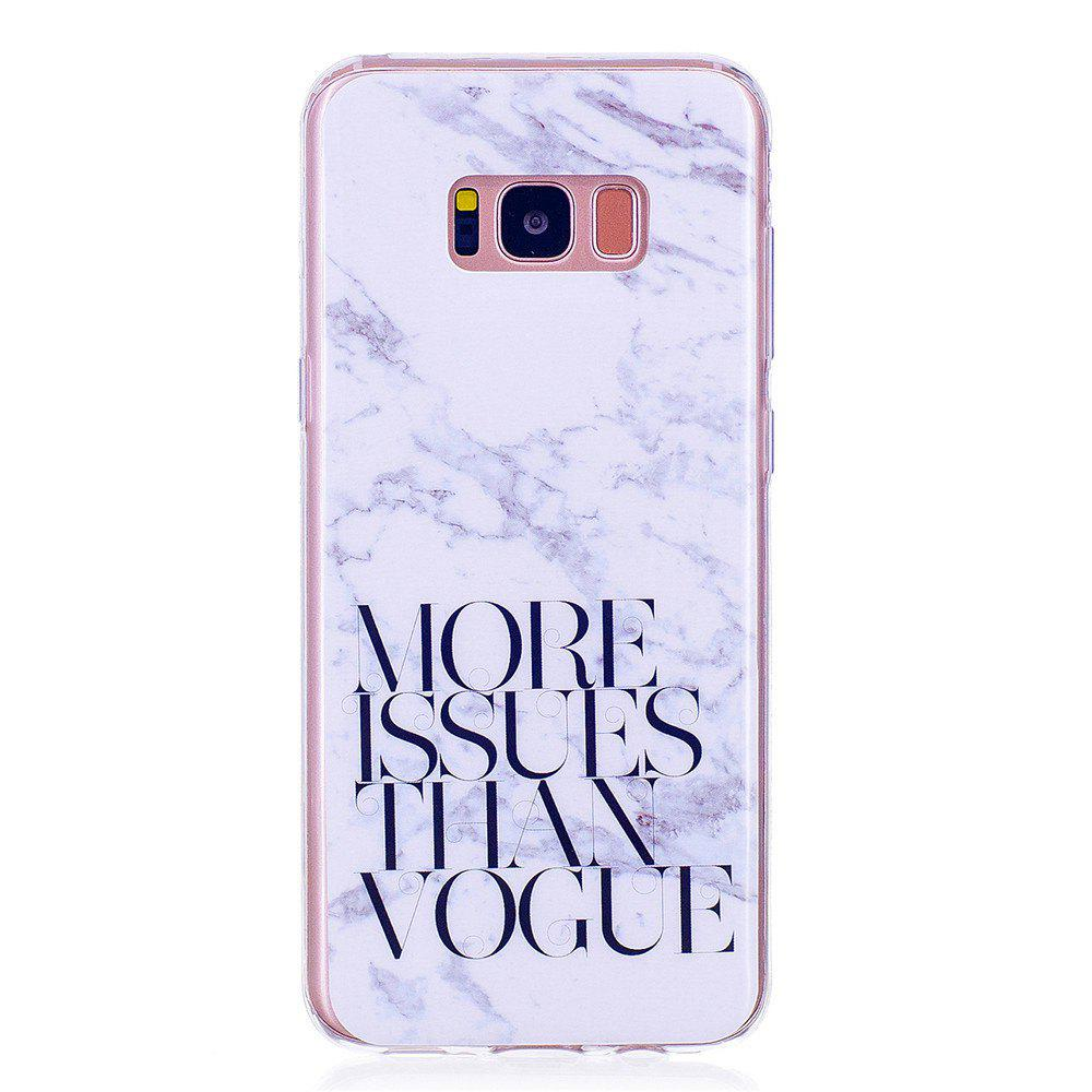 Hot Marbling Phone Case For Samsung Galaxy S8 plus Case Trend Fashion Soft Silicone TPU Cover Cases Protection Phone Bag