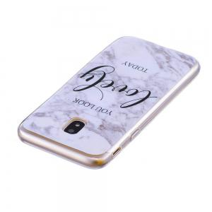 Marbling Phone Case For Samsung Galaxy J7 2017 J730 Case Eurasian Version Trend Fashion Soft Silicone TPU Cover Cases -