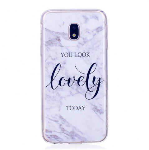 New Marbling Phone Case For Samsung Galaxy J7 2017 J730 Case Eurasian Version Trend Fashion Soft Silicone TPU Cover Cases