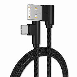 1M Type-C Cable Charge 90 Degree Cable -