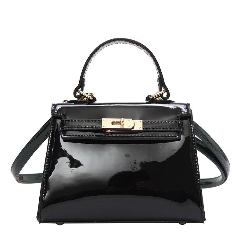 Store Fashion Patent Leather Hand-Shoulder Messenger Bag