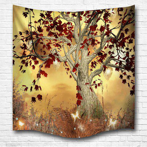 Unique Elf Tree 3D Digital Printing Home Wall Hanging Nature Art Fabric Tapestry for Bedroom Living Room Decorations