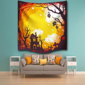The Skeleton Ghost 3D Digital Printing Home Wall Hanging Nature Art Fabric Tapestry for Bedroom Living Room Decorations -