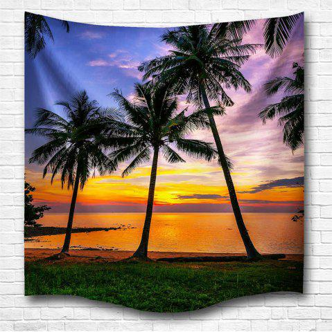 Online Sunset 3D Digital Printing Home Wall Hanging Nature Art Fabric Tapestry for Bedroom Living Room Decorations