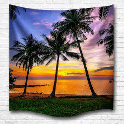 Sunset 3D Digital Printing Home Wall Hanging Nature Art Fabric Tapestry for Bedroom Living Room Decorations -