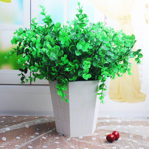 Shop 5 Bouquets of Artificial Plants Set Lifesome Fresh Green Plants Home Decoration