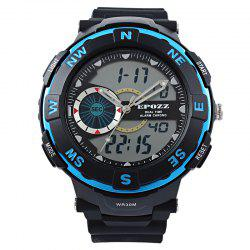 EPOZZ 2808 Men Digital Watch Waterproof Fashion Outdoor Sports -