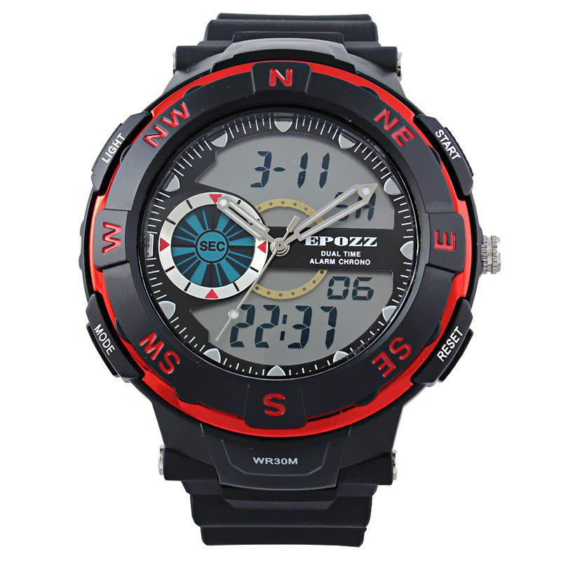 Chic EPOZZ 2808 Men Digital Watch Waterproof Fashion Outdoor Sports