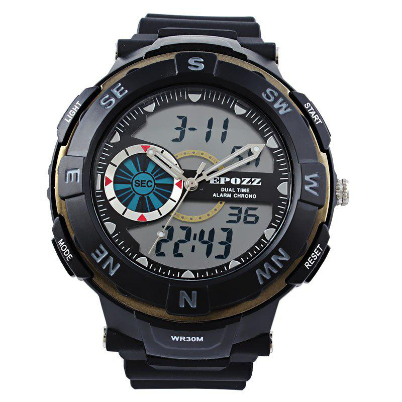 Cheap EPOZZ 2808 Men Digital Watch Waterproof Fashion Outdoor Sports