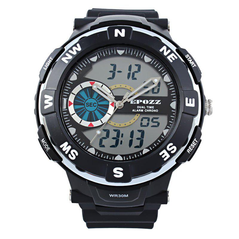 Sale EPOZZ 2808 Men Digital Watch Waterproof Fashion Outdoor Sports