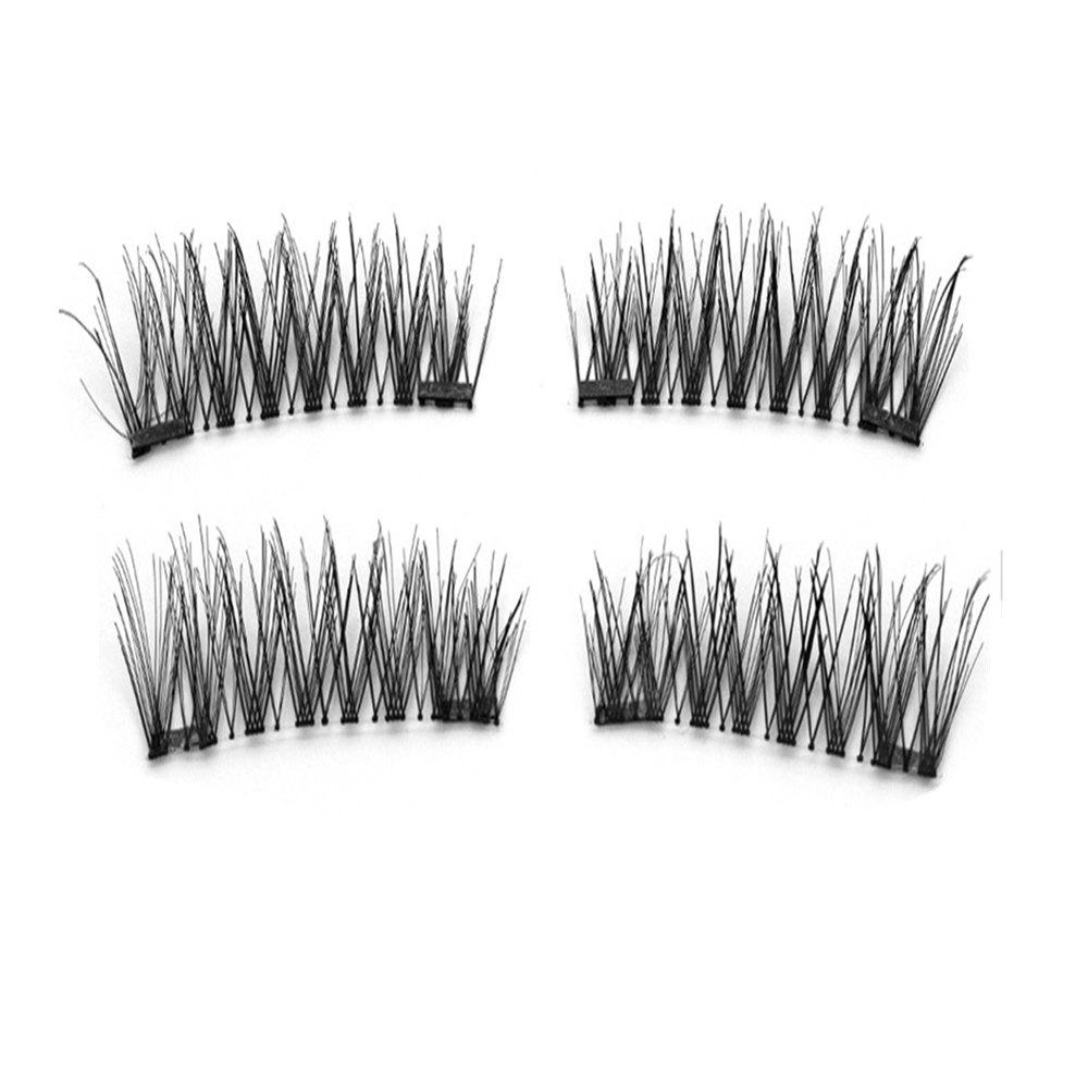 Online Eyelashes 6D Magnetic Made Strip Lashes Cilios Posticos