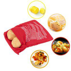 Microwave Baking Potatoes Cooking Roasted Potato Bags Easy To Cook Kitchen Gadgets -
