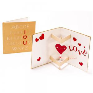 Creative Love Carte de voeux Manuel -