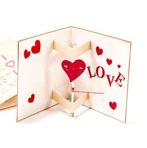 Creative Love Carte de voeux Manuel