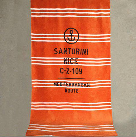 Sale Pure Cotton Stripe Printed Beach Towel