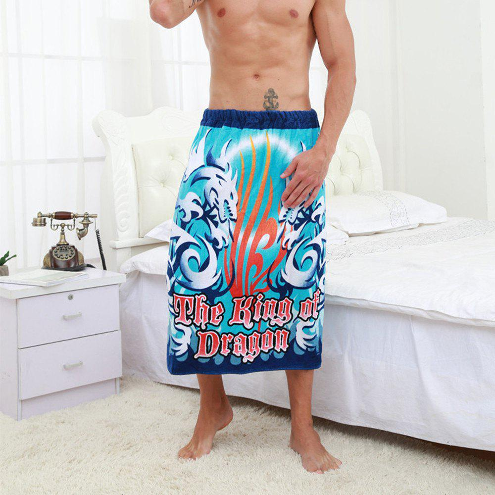 New Cotton Printing Adult Bath Skirt
