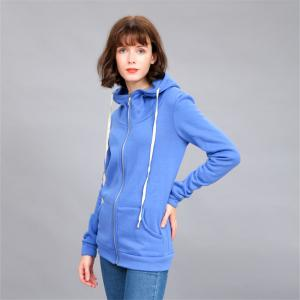 Women's Solid Color All Match Slim Hoodie -