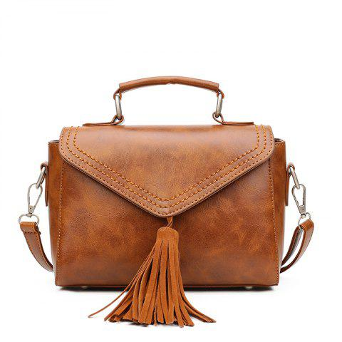 Affordable 2018 Lady Tassel's Single Shoulder Handbag