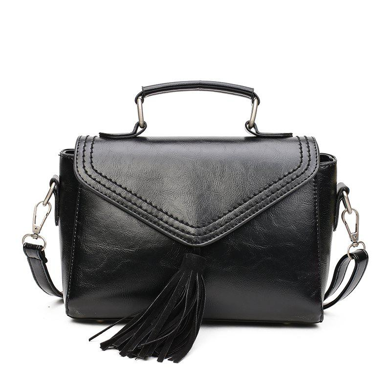Sale 2018 Lady Tassel's Single Shoulder Handbag