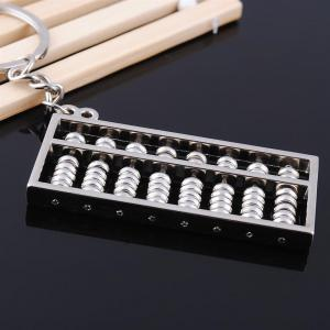 Abacus Keychain Key Rings Metal Jewelry Creative Gifts -