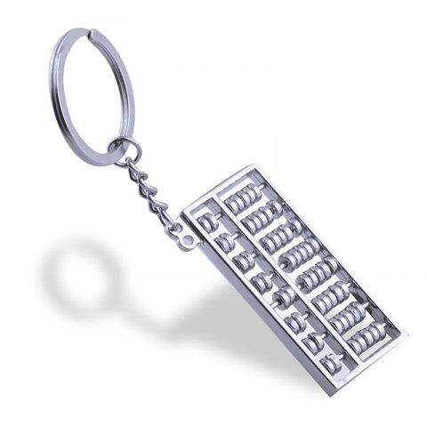 New Abacus Keychain Key Rings Metal Jewelry Creative Gifts