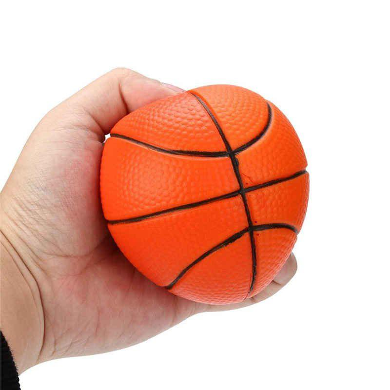 Fancy Jumbo Squishy Slow Rising Basketball Simulation Squeeze Toy Sport Themed Balls To