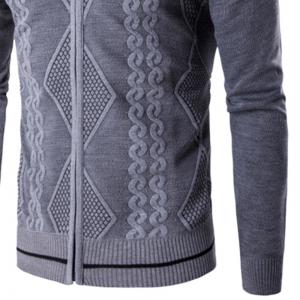 2018 Spring and Autumn  Slim Lapel  Leisure Sports Cardigan -