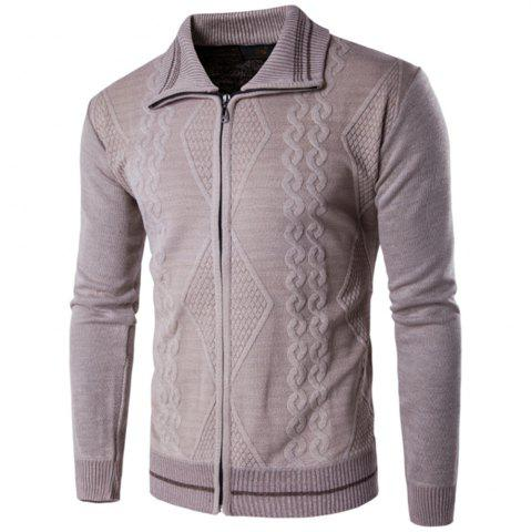Outfit 2018 Spring and Autumn  Slim Lapel  Leisure Sports Cardigan
