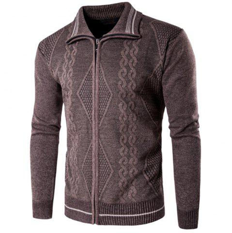 Fancy 2018 Spring and Autumn  Slim Lapel  Leisure Sports Cardigan