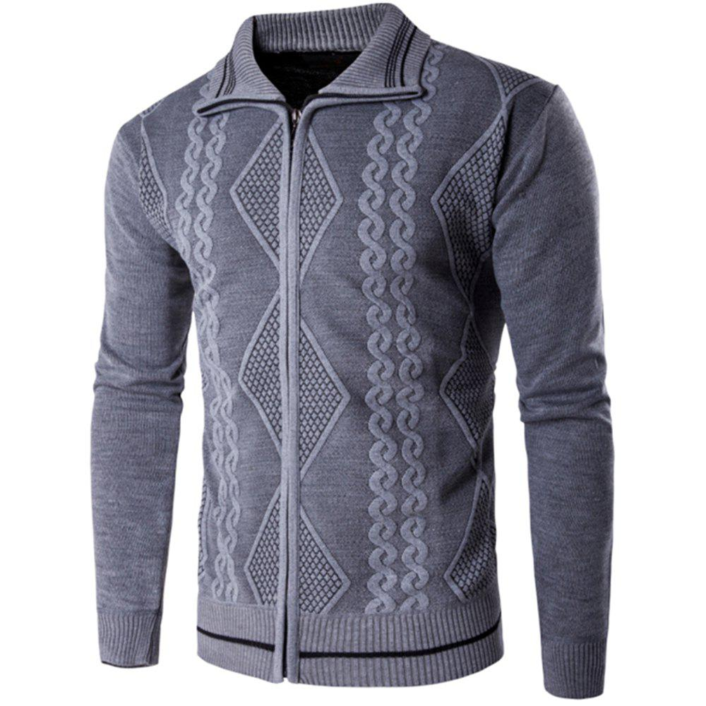 Affordable 2018 Spring and Autumn  Slim Lapel  Leisure Sports Cardigan