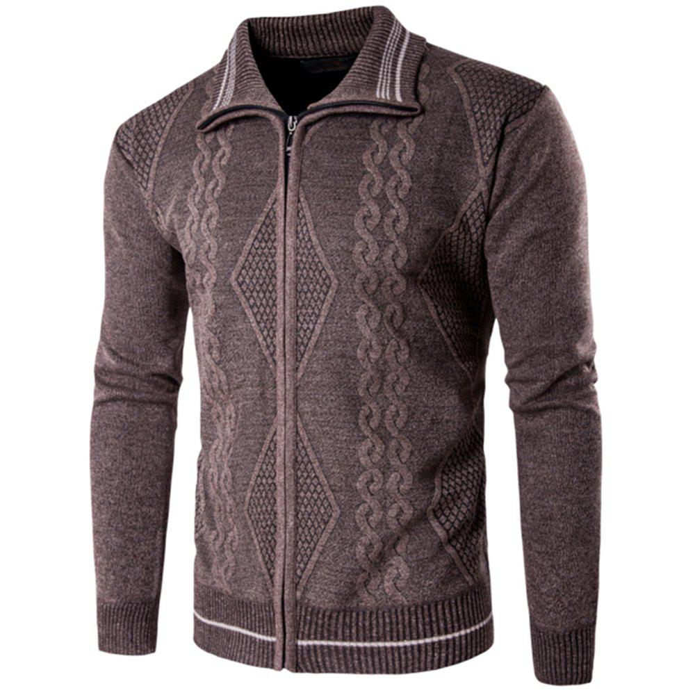 Fashion 2018 Spring and Autumn  Slim Lapel  Leisure Sports Cardigan