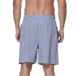 Daifansen Men's Pure Cotton Casual Beach Shorts -