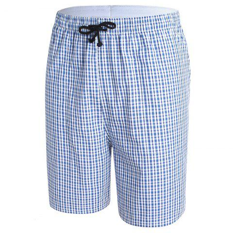 Hot Daifansen Men's Pure Cotton Casual Beach Shorts