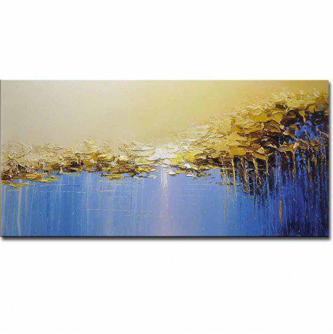 Fancy Modern Hand Painted Abstract Canvas Oil Painting Acrylic Living Room Home Wall Decor