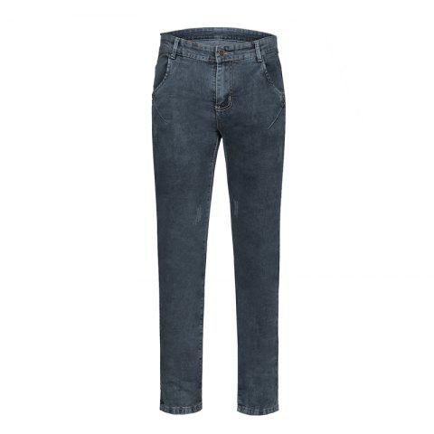 Chic Men's Summer Micro-Elastic Slim Jeans