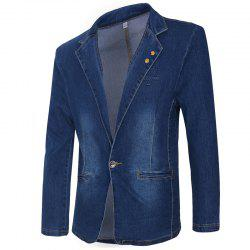 Men's Casual Fashion Cowboy Jacket -