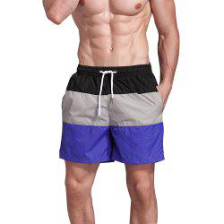 Men's Beach Pants Sports Fitness Loose Casual Quick-Drying Shorts -