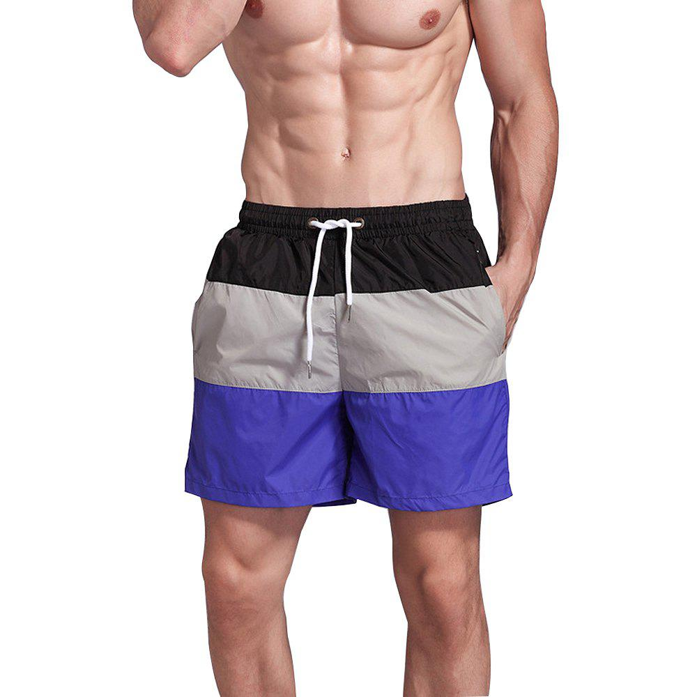 Shop Men's Beach Pants Sports Fitness Loose Casual Quick-Drying Shorts