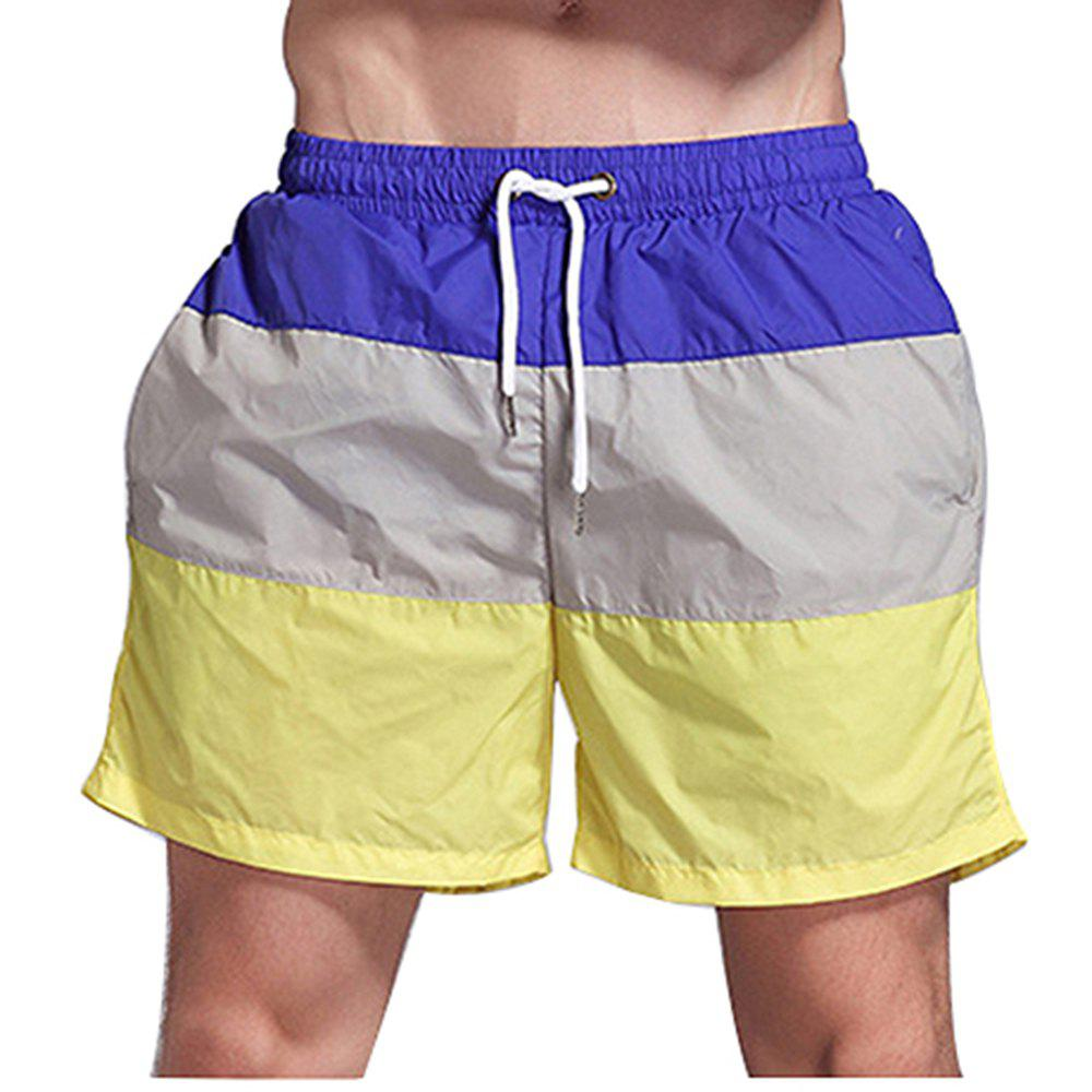 Fancy Men's Beach Pants Sports Fitness Loose Casual Quick-Drying Shorts
