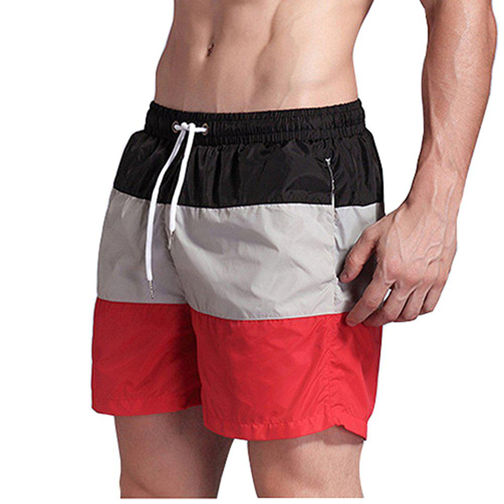 Sale Men's Beach Pants Sports Fitness Loose Casual Quick-Drying Shorts
