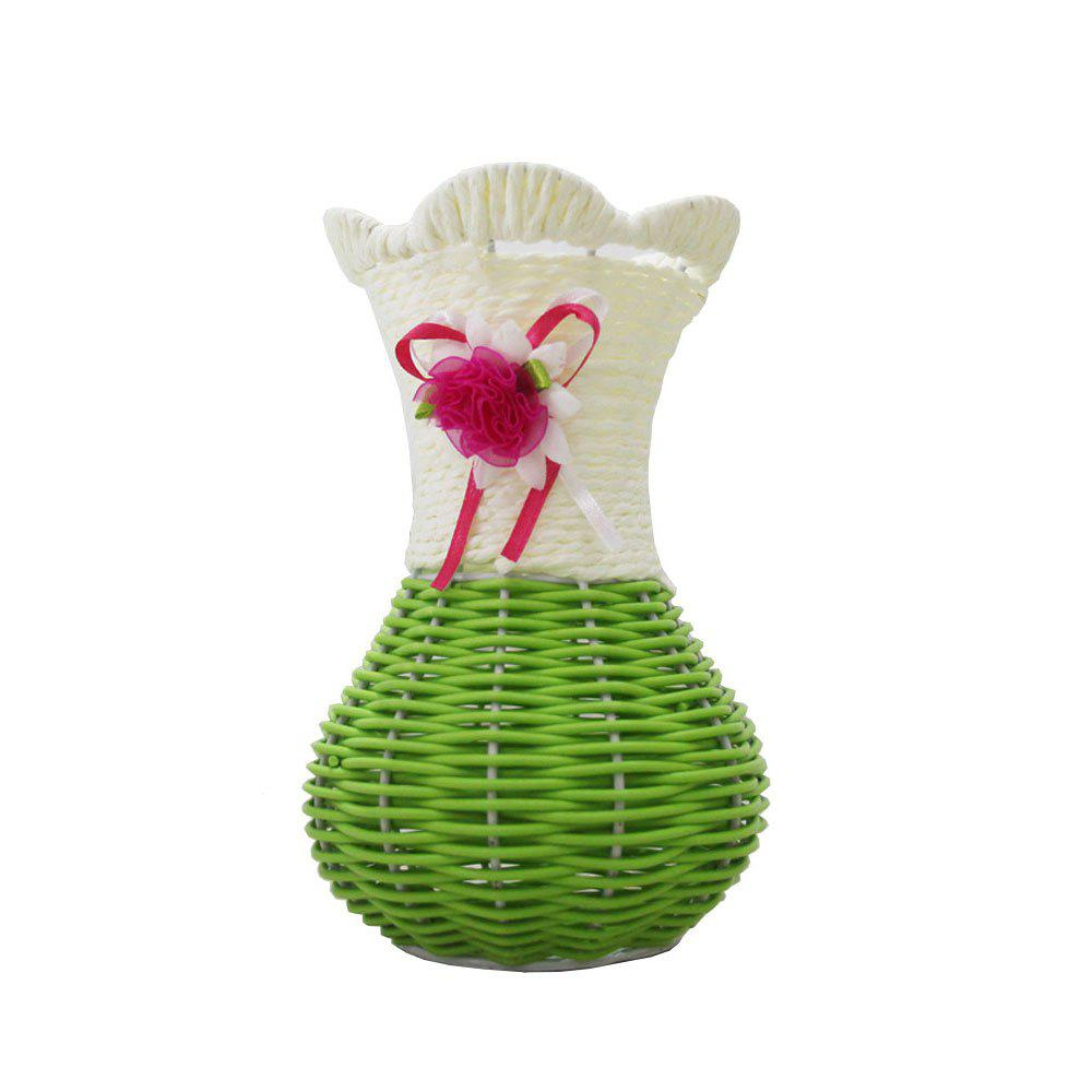 Hot Table Top Decoration Hand-Woven Vase